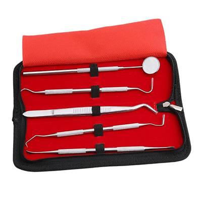 Dental Kit Dentist Stainless Steel Hygiene Set Tool Pick Tarter Personal Remover