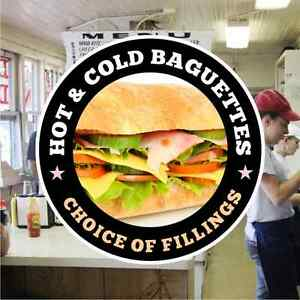 Baguettes-Hot-Cold-Catering-Sign-Window-Cafe-Restaurant-Stickers-Graphics-Decal