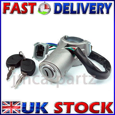 Ignition Starter Lock Barrel & Keys compatible with IVECO DAILY 2000 - 2006