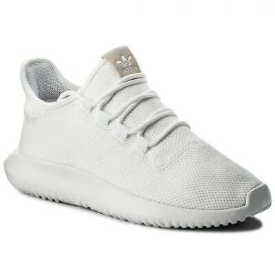 Adidas Mens Tubular Shadow Trainers Smart Sneakers  White