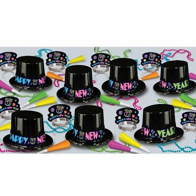 New Years Eve Party Neon Assortment 50-Person New Year Party Kit](New Years Eve Party Kit)