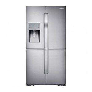 Samsung 4-door French Door Refrigerator RF32FMQDBSR