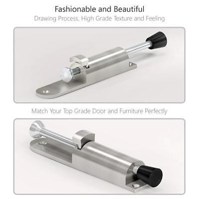 Down Door Holder - Universal Heavy Duty Spring Loaded Step Down Push On Door Holder Tool LJ