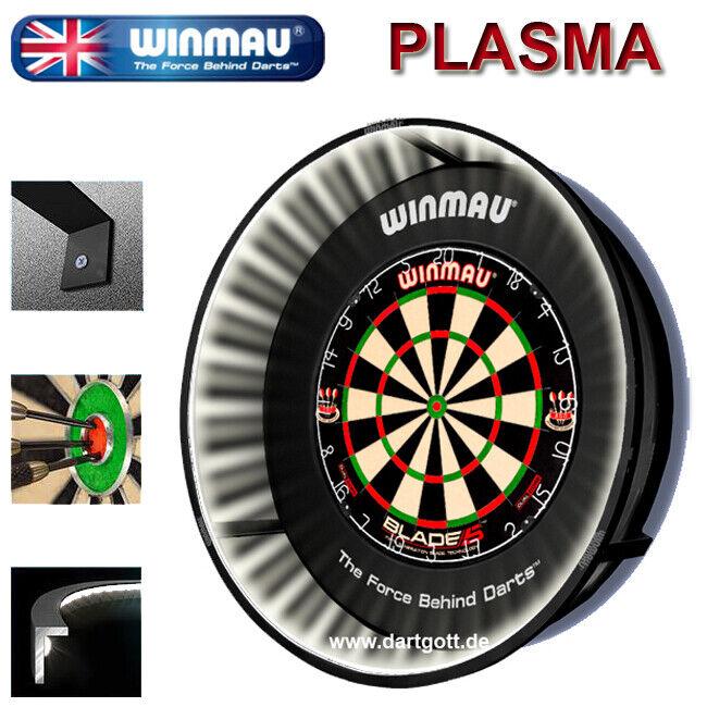 Winmau Plasma Dartboard Beleuchtung 132 LED´s Licht für alle Dartscheiben