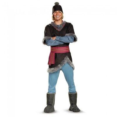 Disguise Disney Frozen Kristoff Deluxe Sven Adult Mens Halloween Costume 99925 - Kristoff Frozen Costume