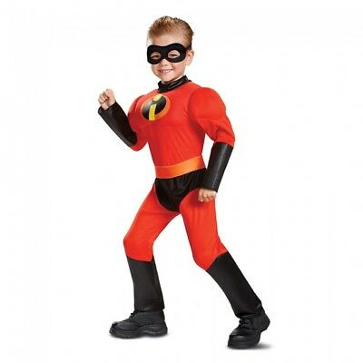Disguise Disney Incredibles Sprint Klassisch Muskel Kleinkinder Halloween Kostüm