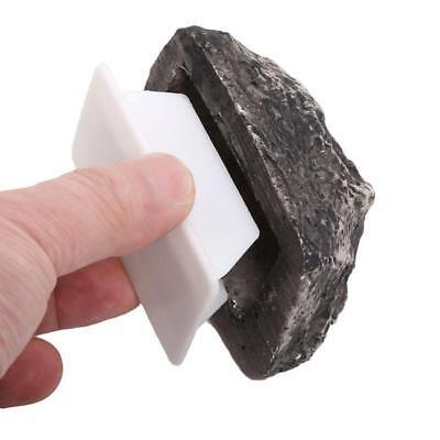 Outdoor Key Box Rock Hidden Hide In Stone Security Safe Storage Hiding SG