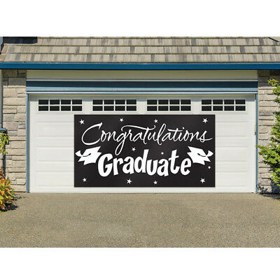 Graduation Giant Sign Banner 10' x 5'