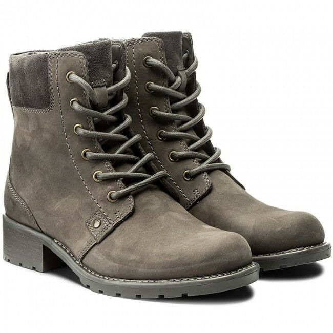 2fe298674a7 Clarks Orinoco Spice Grey Nubuck Ankle boots UK 8 wide EU 42 wide worn  twice could deliver nearby