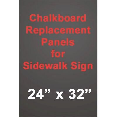 24x32 Black Chalkboard A Frame Insert Panel