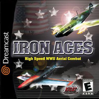 Iron Aces Dc New Sega Dreamcast