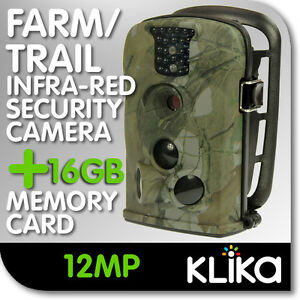 NEW DIGITAL TRAIL SECURITY CAMERA DAY NIGHT VISION GAME HUNTING STEALTH DEER CAM