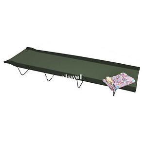 lit de camp pliant camping arm e ebay. Black Bedroom Furniture Sets. Home Design Ideas