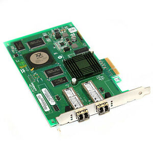 QLogic SANblade PCI-E x4 2GB Dual Port Fibre Channel Adapter QLE2362