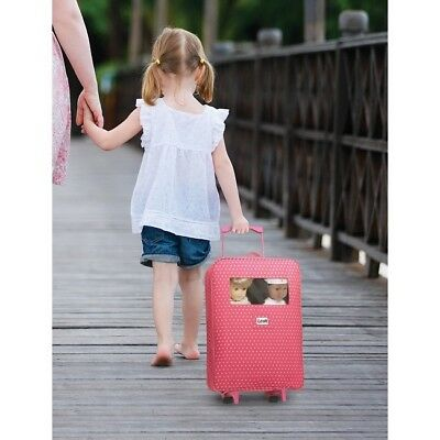 Baby Doll Trolley Fits American Girl Dolls Twin Sleeping Bag Pillow Carrier New