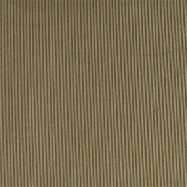 Designer Fabrics C180 54 in. Wide Green Thin Solid Corduroy Striped Upholster...
