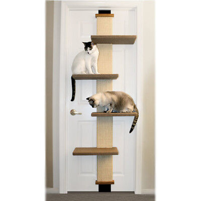 "SmartCat 80"" Door-Climber Cat Tree"