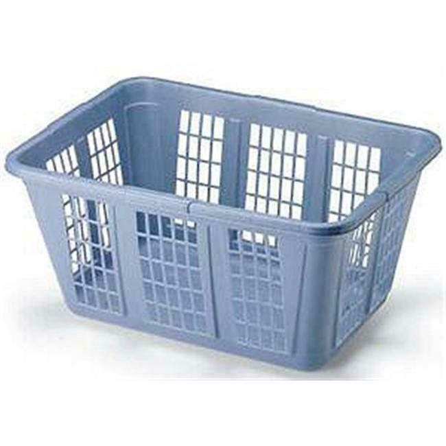 Rubbermaid 296585ROYBBLU 1.6 Bushel Laundry Basket Pack Of 8