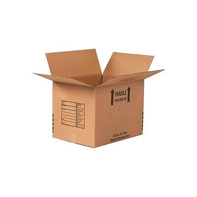 Deluxe Packing Boxes 24x24x24 Kraft 10each