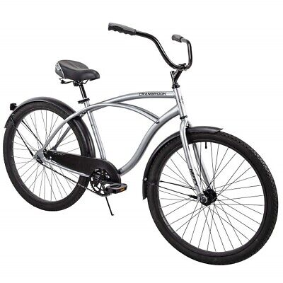 Beach Cruiser Bike Mens 26 Inch Perfect Fit Frame Aluminum Comfort Ride Bicycle