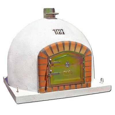 Ofen AS511 Backofen Steinofen 100x100cm Holzbackofen Brotbackofen Flammkuchen