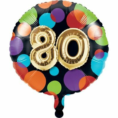 Gold Balloon Birthday 80th Birthday Foil Balloon 80th Birthday Party Decoration - 80th Birthday Party