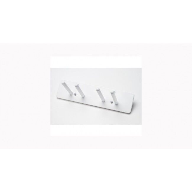Wall Mounted Lead Apron Rack - Four Pegs