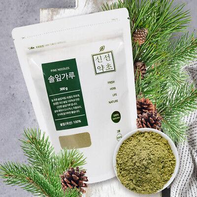 100% Natural Pine Needle Powder 300g Medicinal Korean Herbal Powder Made Korea