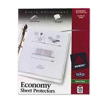 Avery Top-load Poly Sheet Protectors Economy Graphic Print Sports Collegiate