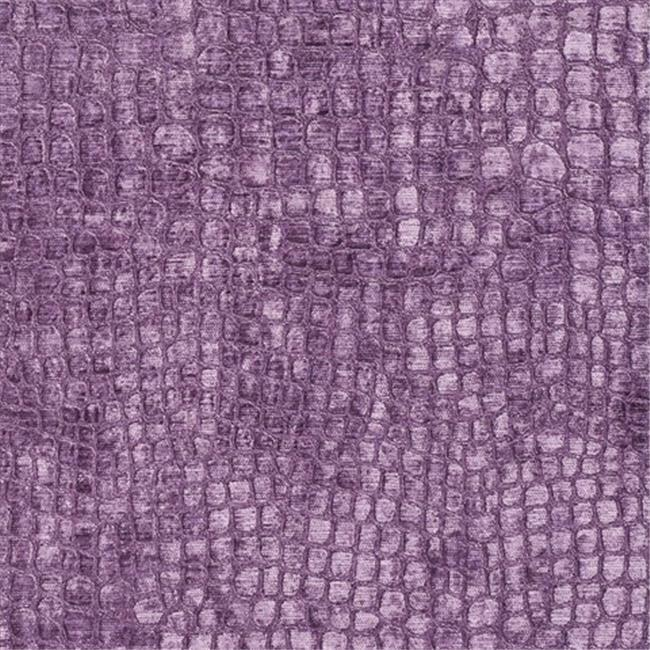Designer Fabrics K0151O 54 in. Wide Purple Textured Alligator Shiny Woven Vel...