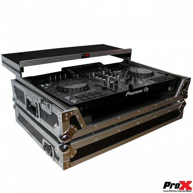Pro X Pioneer XDJ-RX2 Controller Case W/Laptop Shelf and Wheels