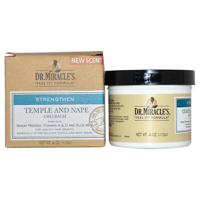 Temple and Nape Gro Balm by Dr. Miracle's for Unisex - 4 oz Balm - Nape Gro Balm
