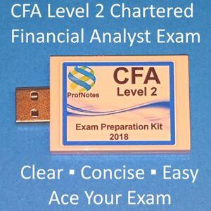 CFA 2018 Level 2 Kaplan Schweser