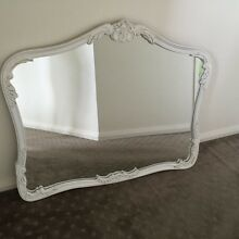 Shabby White Mirror Chatswood West Willoughby Area Preview