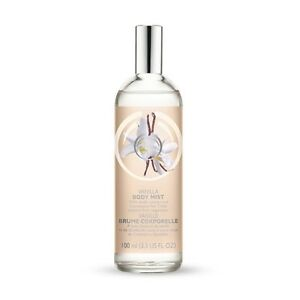 Body Shop Vanilla Fragrance Body Mist  100ml