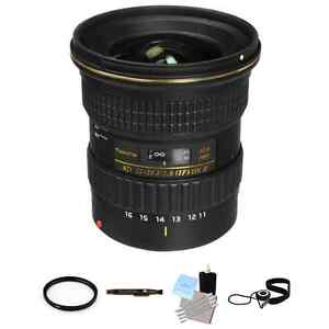 Tokina AT-X 116 PRO DX-II 11-16mm f/2.8 Lens for Canon Package