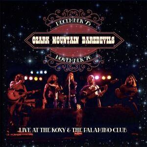 OZARK MOUNTAIN DAREDEVILS -  Live At The Roxy & Palamino Club. New 2CD + Sealed