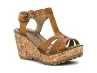 Wedge Sandals - FLY LONDON -As NEW - Sz 5 - with Labels - Gorgeous