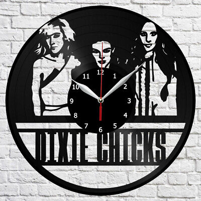 Dixie Chicks Vinyl Record Wall Clock Home Fan Art Deco 12'' 3 cm 4391