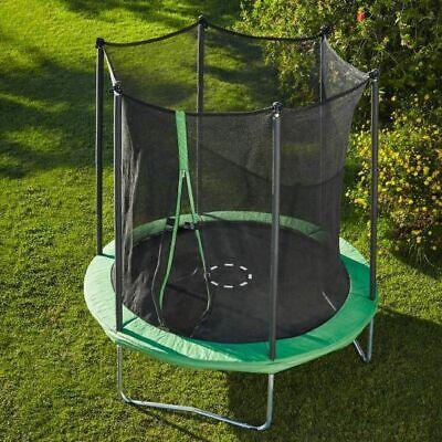 Trampoline 8FT 244cm Premium + Internal Safety Net Enclosure Spring Cover Garden
