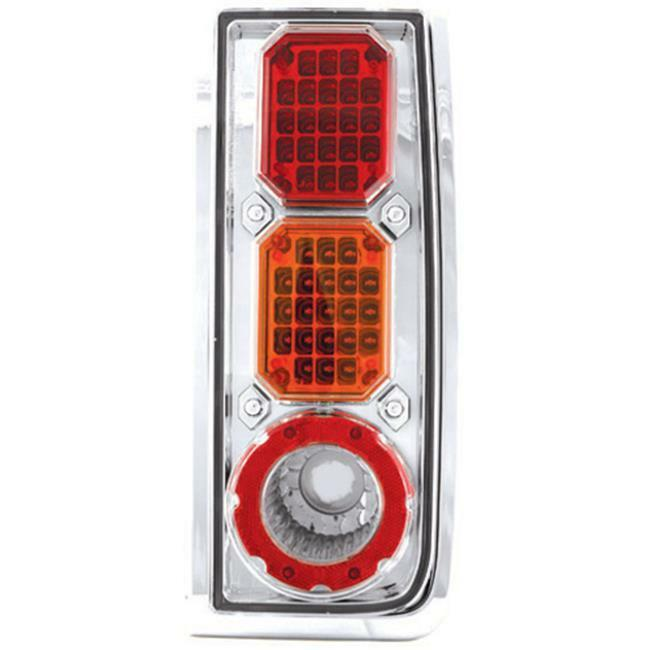 IPCW LEDT-343CA Hummer H2 2003 - 2008 Tail Lamps LED Clear Red Amber