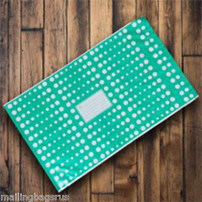 10 Green Polka Dots 10