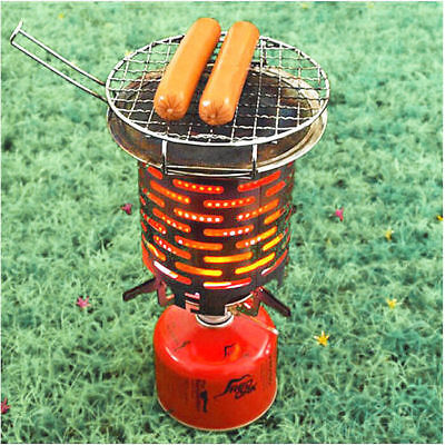 Outdoor Mini Stove Space Heater Camping Stainless Steel Heating Hood 4269HC