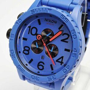 Nixon 51-30 chrono Mat blue