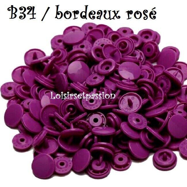 Couleur B34 / BORDEAUX ROSÉ