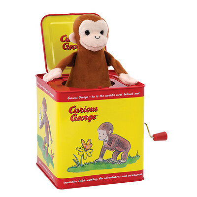 CURIOUS GEORGE JACK IN THE BOX SCHYLLING TIN TOY - SALE!