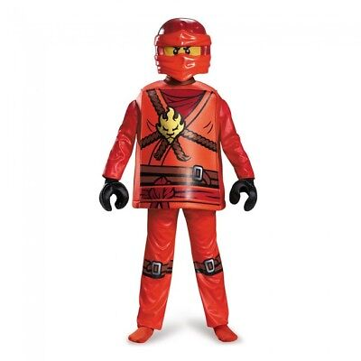 Disguise Lego Ninjago Spinjitzu Kai Deluxe Child Boys Halloween Costume 98105](Ninjago Halloween Costumes Kai)