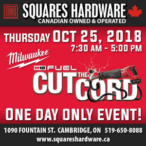 Milwaukee Tools: Cut the Cord Event
