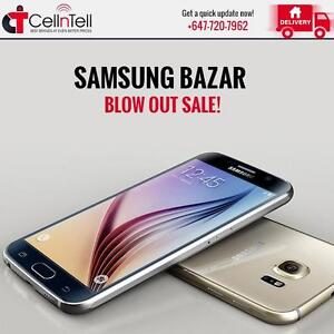 Samsung Bazar – Blow Out Sale at S6, S6 Edge, S5, S4, Note 4 and 5