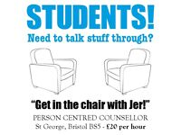 Student Counselling - £20 per hour - Get in the chair with Jer!